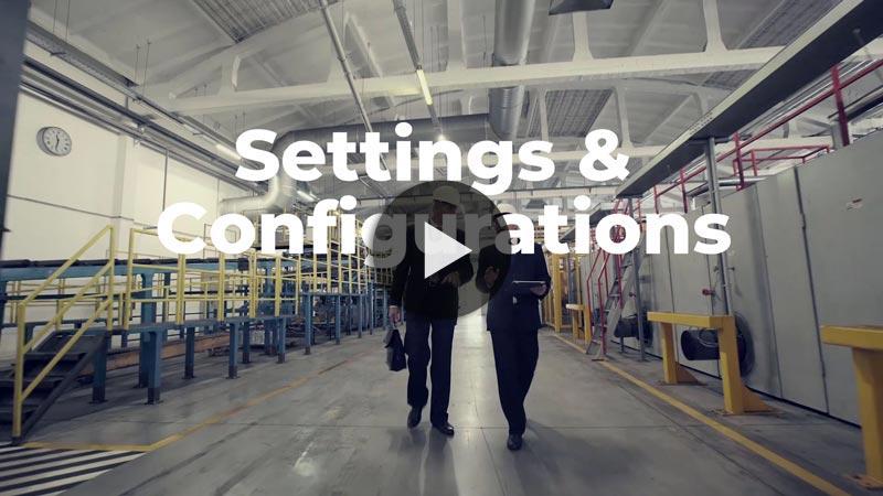 Custom Settings and Configurations