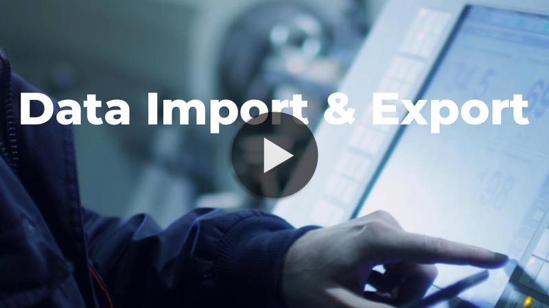 Easily Import and Export Your Data