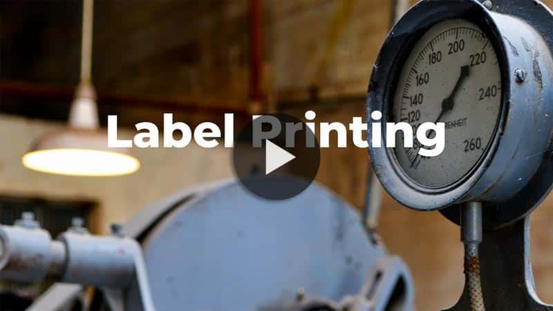 Printing Calibration Labels