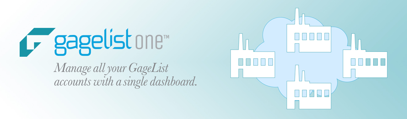 Manage all your GageList accounts with a single dashboard